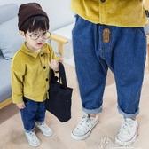 男童牛仔褲長褲寶寶休閒寬鬆褲子兒童垮褲百搭1-3歲 奇思妙想屋