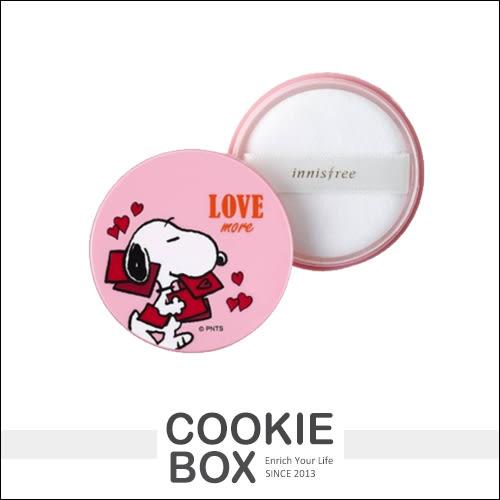 韓國 innisfree X Snoopy 史努比 聯名 礦物質 控油 蜜粉 5g 限量 *餅乾盒子*