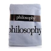 Philosophy 浴巾(藍)