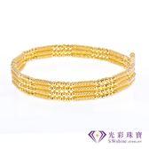 【光彩珠寶】日本18K金磁鐵手環/項鍊三用款-豪華版