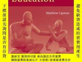 二手書博民逛書店【罕見】2003年出版平裝 Thinking In Educat