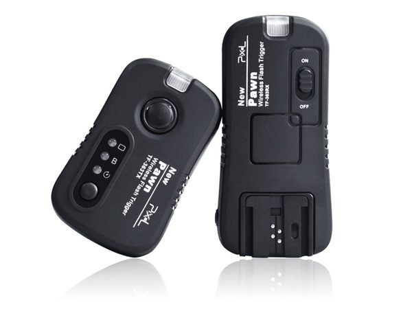 我愛買#品色PIXEL副廠Sony引閃器無線快門線PAWN可換線TF-363離閃器外閃機頂閃光燈觸發器發射器HVL-43AM