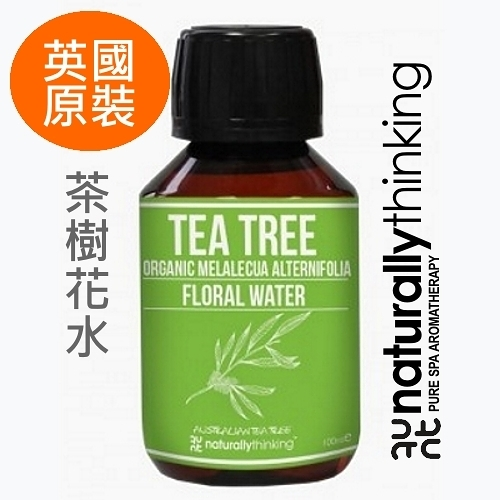 NT 茶樹花水 100ml。Tea Tree Floral Water。英國原裝 Naturally Thinking