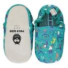 英國POCONIDO 手工鞋 嬰兒鞋 學步鞋-做瑜珈的波麗士(6~24M)
