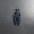 Queen Shop【04050698】童裝 親子系列 口袋造型牛仔吊帶褲 S/M/L*現+預*