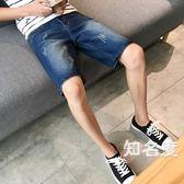 牛仔短褲男 2019夏季新品牛仔短褲男士五分褲韓版破洞薄款寬鬆牛仔中褲男潮流 6色28-38碼