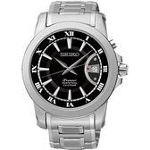【人文行旅】SEIKO | 精工錶 SNQ141J1 Premier 羅馬風格 藍寶石水晶鏡面 石英錶