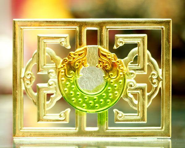 鹿港窯~居家開運琉璃磚【如意綿延透空-雙龍璧】附古法製作珍藏保證卡◆免運費送到家