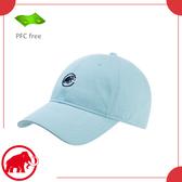 【MAMMUT 長毛象 MA Baseball Cap 棒球帽《禪意藍》】1191-05812/戶外健行/遮陽/老帽/經典款