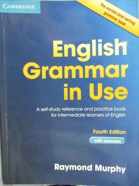 【書寶二手書T1/原文書_ZCC】English Grammar in Use: A Self-Study…