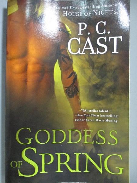 【書寶二手書T9/原文小說_NLV】Goddess of Spring_Cast, P. C.
