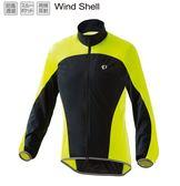 《PEARL iZUMi》2300-4 16 夜騎必備輕量口袋型風衣 黑黃