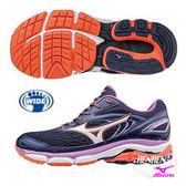 美津濃 MIZUNO 女慢跑鞋 WAVE INSPIRE 13 (紫) 寬楦 暢銷支撐鞋款 J1GD174208【 胖媛的店 】