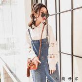 2018春裝寬鬆韓版白襯衫
