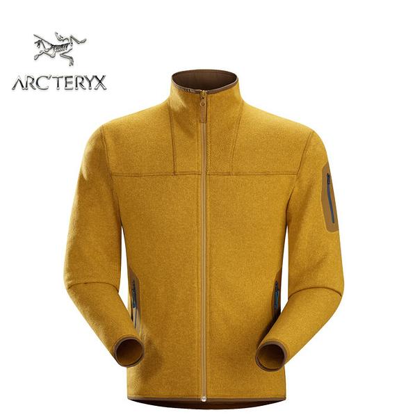 丹大戶外用品 【Arc'teryx】始祖鳥 Covert Cardigan 男立領刷毛保暖外套 5013315375H 稻穗黃