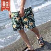 海灘褲 休閒沙灘短褲 S-M