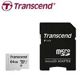 Transcend 創見 microSDXC 300S / 64G 記憶卡 含轉卡