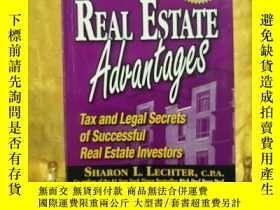 二手書博民逛書店Rich罕見Dad s Real Estate Advantag