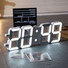 【溫度/鬧鐘/萬年曆】 3D立體 LED...