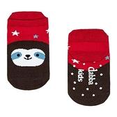 【北投之家】兒童襪子 腳底止滑襪 0-6歲 後跟防磨 台灣製造 樹懶娃娃 (嬰幼兒/寶寶/小孩)