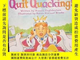 二手書博民逛書店Quit罕見Quacking..Y12498