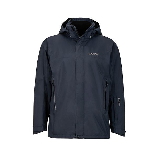 [Marmot] (男) Palisades GTX+羽絨兩件式防水保暖外套 黑 (M31500-0001)