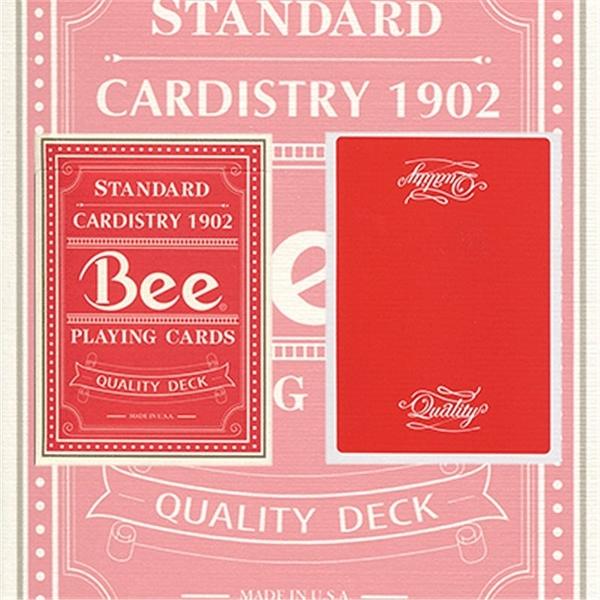 【USPCC撲克】Quality Bee Playing Cards 紅色蜜蜂頂級撲克牌
