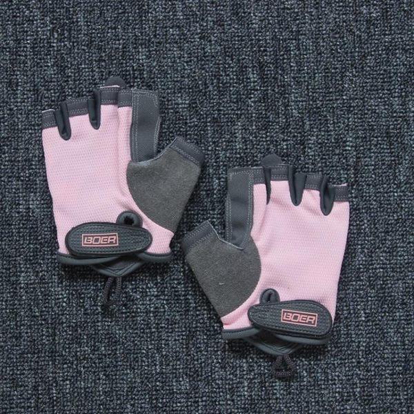 店慶優惠三天-器械健身手套運動手套防滑半指訓練單車