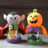 萬圣節女巫婆糖果罐禮物幼兒園兒童南瓜討糖袋南瓜桶道具
