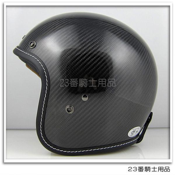 【M2R XF-1 碳纖維 素色 安全帽 極度輕量 騎士帽 復古帽 3/4罩 半罩】內襯全可拆 免運費