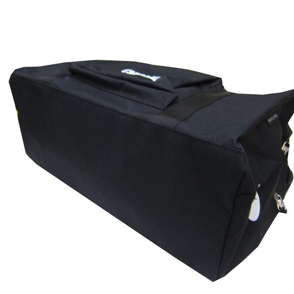 ~雪黛屋~CONFIDENCE 旅行袋中容量主袋+外袋共五層內固定水瓶台灣製造防水輕量尼龍布ATB8255