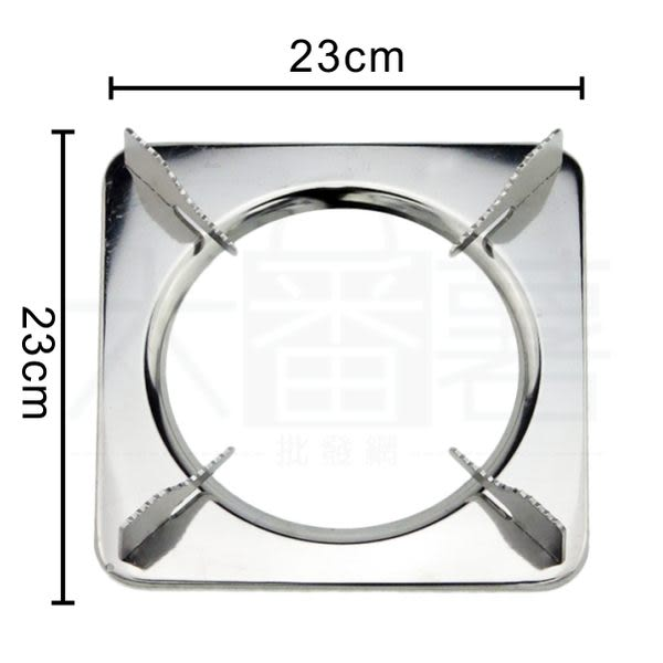 【台灣製】 430不鏽鋼高級爐架 正方形 / 瓦斯爐架 [24A1] - 大番薯批發網