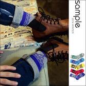 現貨 中筒襪 秋冬款毛線編織 雪花麋鹿中筒襪【AS10804】-SAMPLE