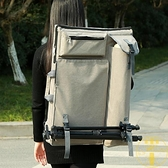 雙肩4K畫板包藝考專用畫板袋大容量手提畫具收納【雲木雜貨】