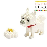 【日本KAWADA河田】Nanoblock迷你積木-北海道犬 NBC-005