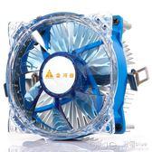 火焰龍鯊臺式機電腦CPU靜音散熱器INTEL風扇775/1150/1151  深藏blue