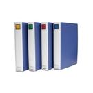 【筆坊】KING JIM 雙開檔案夾  KING JIM 1475GSV 雙開柱式夾5cm (藍) 檔案夾