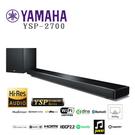 【夜間限定】YAMAHA YSP-2700 藍芽 Wi-Fi Soundbar 無線重低音 家庭劇院
