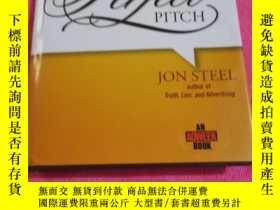 二手書博民逛書店Perfect罕見Pitch:The Art of Selling Ideas and Winning New B