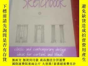 二手書博民逛書店The罕見curtain sketchbookY205084 W