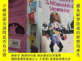二手書博民逛書店horrid罕見henry and the abominable snowman 可怕的亨利和可惡的雪人. .
