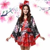 舞蹈服動漫cosplay女裝和服宅舞服演出服日式櫻花女仆裝 居享優品