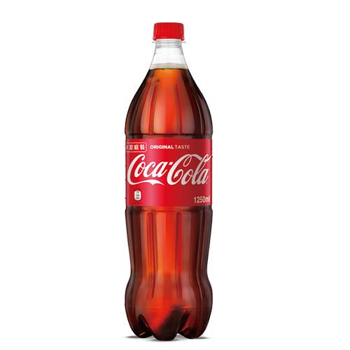 可口可樂寶特瓶1250ml【愛買】