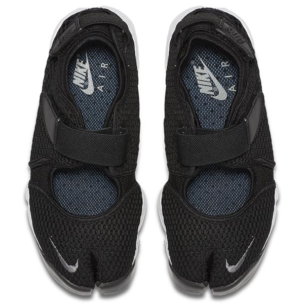 【現貨】NIKE AIR RIFT BR 女鞋 涼鞋 忍者鞋 魔鬼氈 透氣 黑【運動世界】848386-001