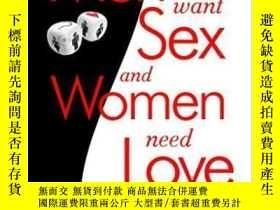 二手書博民逛書店Why罕見Men Want Sex And Women Need LoveY256260 Barbara Pe