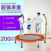 彈跳床 兒童蹦蹦床成人家用健身房室內小型小孩家庭跳跳床彈跳床T 2色