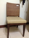 【南洋風休閒傢俱】餐椅系列-海草餐椅 仿藤餐椅 造型餐椅 戶外餐椅 203-9