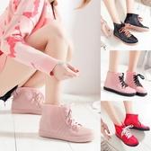 女士水鞋防滑加絨雨靴短筒保暖韓國可愛套鞋膠靴雨鞋女時尚款外穿  koko時裝店