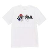 Nike 短袖T恤 Sportwear Tee Hype 白 黑 男款 JDI 短T 純棉 【PUMP306】 AR5078-100