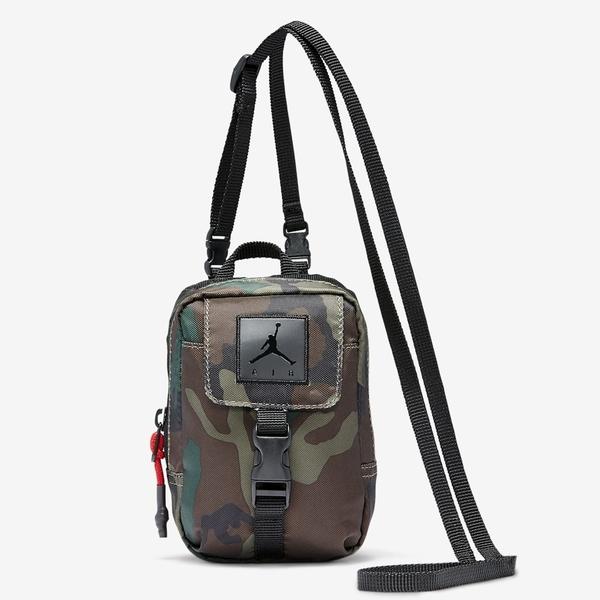 NIKE 側背包 JORDAN 迷彩 方形小包 休閒 手機包 胸前包 側背包 隨身包 (布魯克林) DC8666301-650